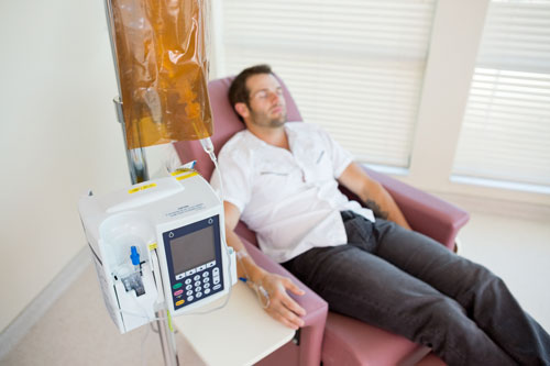 IV-treatment